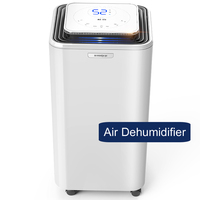 electric air dehumidifier DH02 for home office basement bedroom mute industry moisture absorber dryer mini dehumidifier 220V