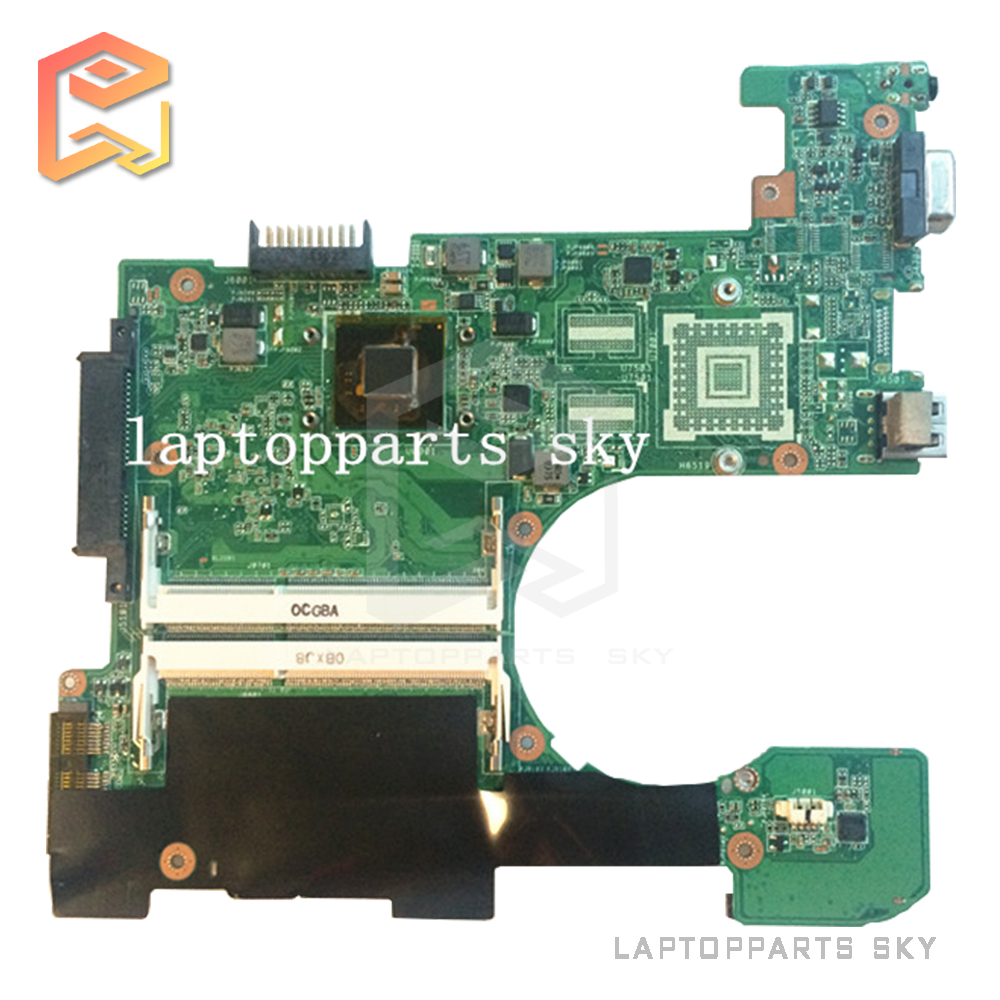 Original fully tested laptop motherboard for ASUS 1215 1215N/VX6 REV:1.4 with CPU intel DDR3 and free shipping g41 motherboard fully integrated core 775 cpu ddr3 ram belt 4 vxd ide usb 100% tested perfect quality