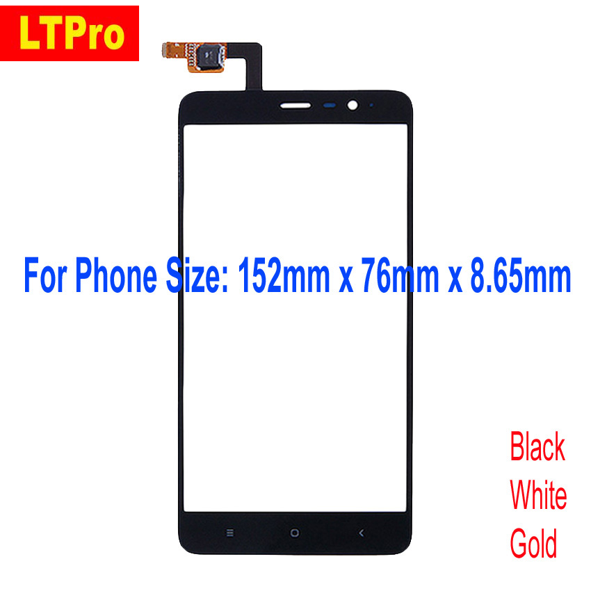 LTPro Best Quality 152mm special version Note3 Pro Glass Panel Touch Screen Digitizer For Xiaomi <font><b>Redmi</b></font> <font><b>Note</b></font> <font><b>3</b></font> SE Phone Parts