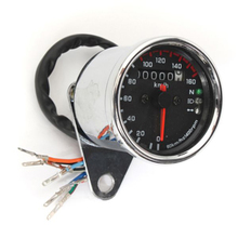 160 km / h speedometer motorcycle bike double mph digital signal LED 12V
