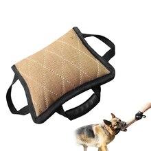 Дрессировка собаки игрушка для укуса питомец тренировочный таг коврик подушка Открытый щенок обучение Интерактивная молярная жевательная игрушка