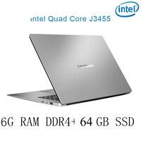 עבור לבחור p2 P2-08 6G RAM 64G SSD Intel Celeron J3455 מקלדת מחשב נייד מחשב נייד גיימינג ו OS שפה זמינה עבור לבחור (1)