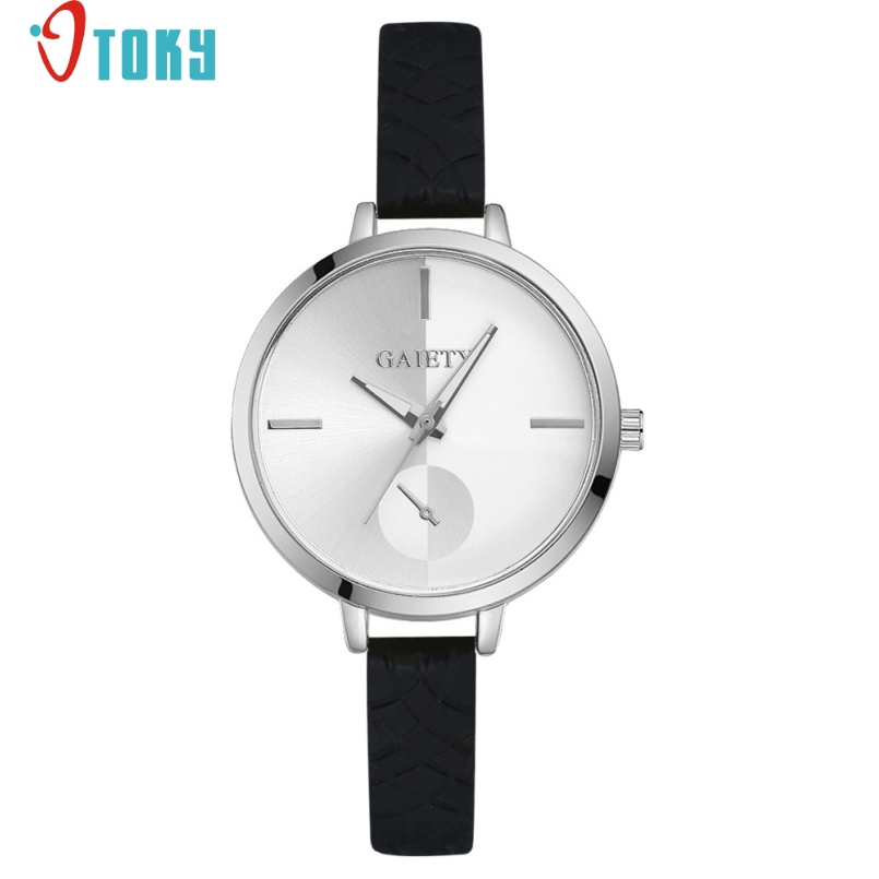Excellent Quality Fashion Vintage Leather Bracelet Watch Casual Women WristWatch Luxury Quartz Watch Relogio Feminino Mar 24