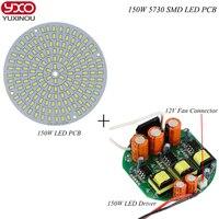 1pcs 50W 100W 150W SMD 5730 LED PCB Aluminum Plate Module Bulb Panel With Ac 220v