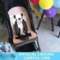 Летняя охлаждающая детская переноска  ледяная Подушка детская коляска  охлаждающая подушка безопасности стул  гелевый ледяной коврик  муль...