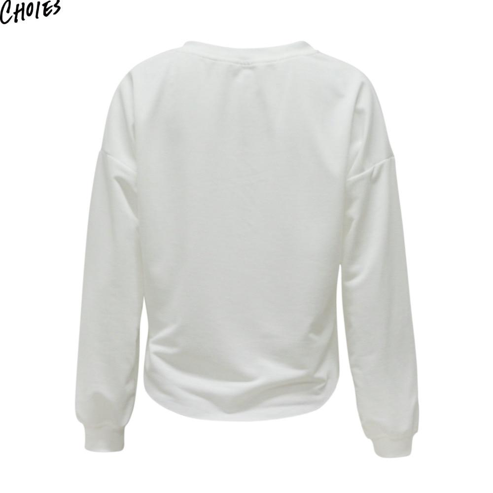 Harga Dan Spek Tendencies Tshirt Personel Putih S Termurah 2018 Kemeja Pasley Olai White 3d Embroidery Floral Dip Hem Cropped Sweatshirt Women Drop Shoulder