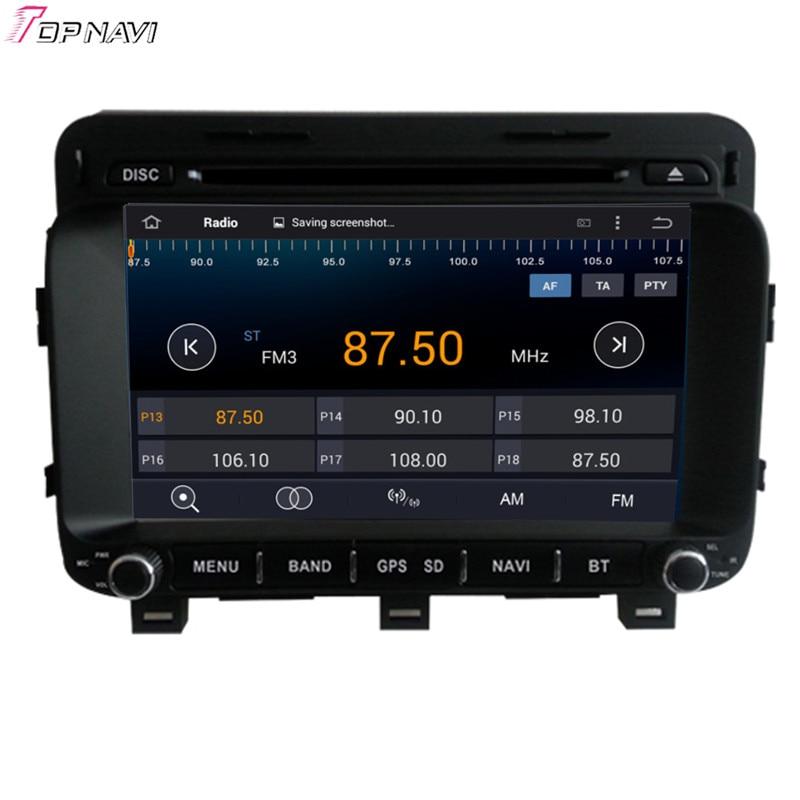 Topnavi 8 ''Quad Core Android 6.0 voiture DVD jouer pour KIA K5/OPTIMA 2014-/Magentis Autoradio GPS Navigation Audio stéréo - 4