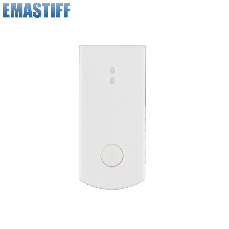 Free Shipping!868MHZ wireless glass/vibration sensor for 7 inch touch Color Screen gsm pstn X6 alarm system wireless vibration break breakage glass sensor detector 433mhz for alarm system