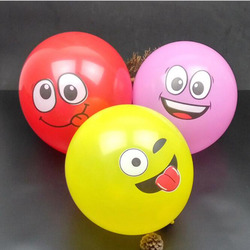 20pcs 12 inch inflatable balls for holidays multicolor cartoon face expression latex party balloons random delivery.jpg 250x250