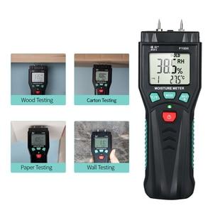 Image 4 - Измеритель влажности для дерева, гигрометр, измеритель влажности растений с 7 режимной подсветкой, хранение данных для цемента