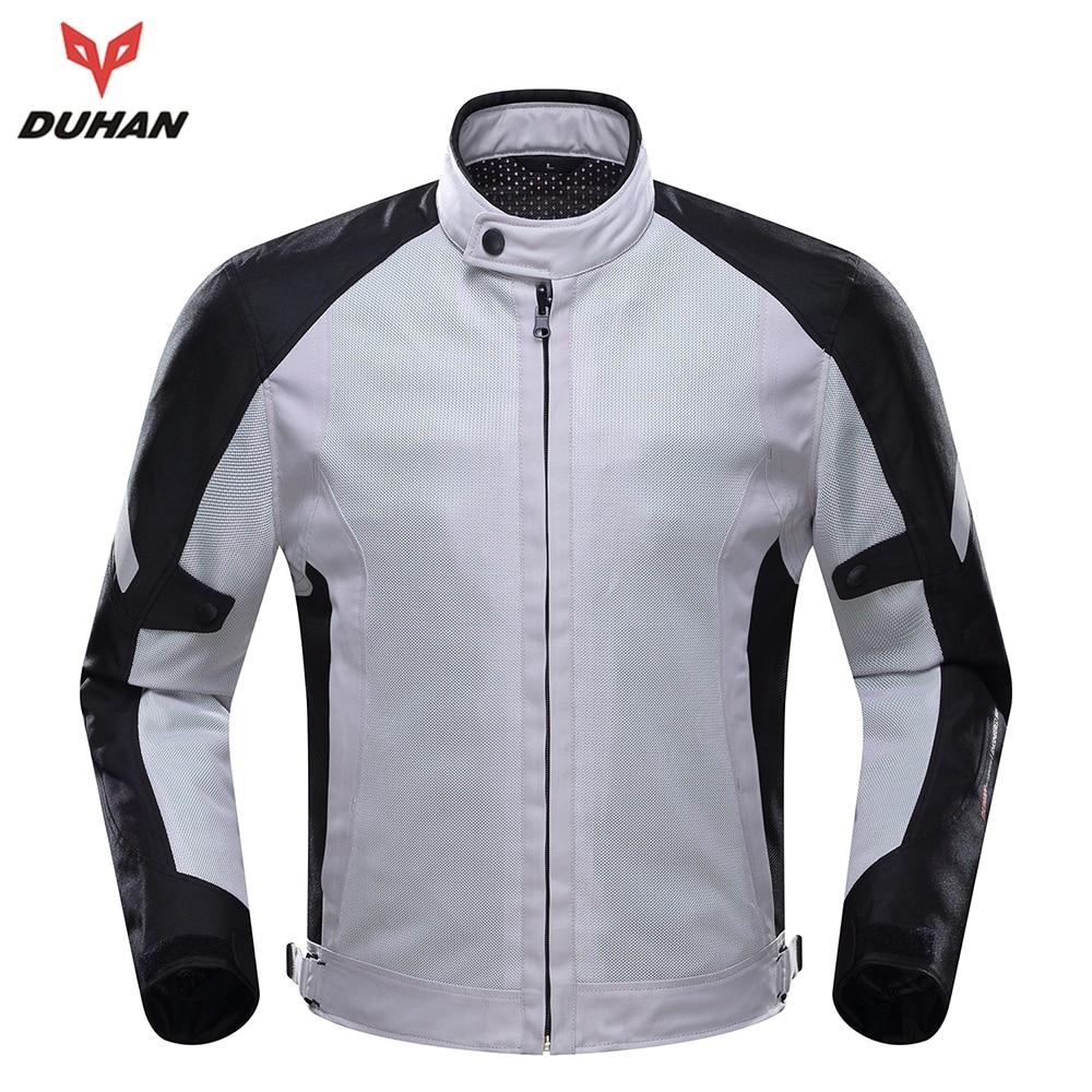 2017 DUHAN Summer Men Motorcycle Jacket Body Protector Motorcycle Mens Mesh Motorcycle Jacket Motocross Clothing цены онлайн