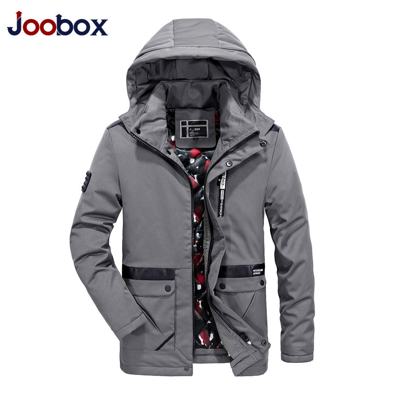 8824b9ad7903 Подробнее Обратная связь Вопросы о JOOBOX бренд 2017 высокое качество  хлопок 100% зимняя куртка Для мужчин модные Дизайн парка Для мужчин Костюмы  пальто на ...