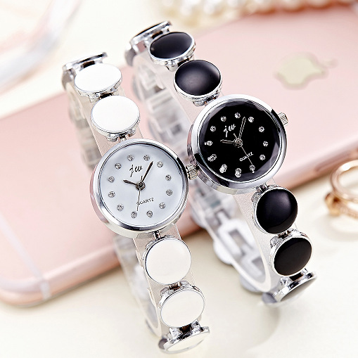 2017 Top Brand JW Fashion Quartz Watch Women Luxury pearl Bracelet watches Clock Ladies Casual Dress Bangle Wristwatches hodinky