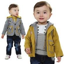 Anlencool Roupas Infantil Meninas Baby Clothing Sets European And American Children's Suit Boy Set Newborn Spring Clothes