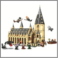 Hogwarts Great Wall House 75954 Building Blocks Model Toys 11007 16052 Compatible legoing Magic World