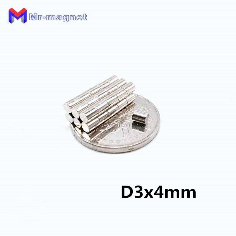 Heimwerker PüNktlich 2000 Stücke 3x4mm Magnet 3*4 Magnetische Materialien Neodym Magnet D3x4 D3 4mm Kleine Runde Disc Magnet Hause Dekorationen Kühlschrank D3x4mm Ohne RüCkgabe
