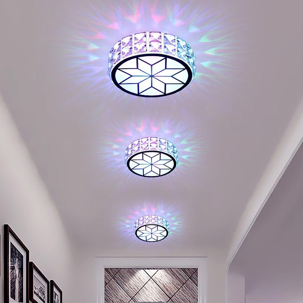 Crystal Ceiling Lamp LED Ceiling Light Circular Living Room Crystal Lamp Living Room Ceiling Light Rotunda Light Main Bedroom lan mu led ceiling lamp octopus light