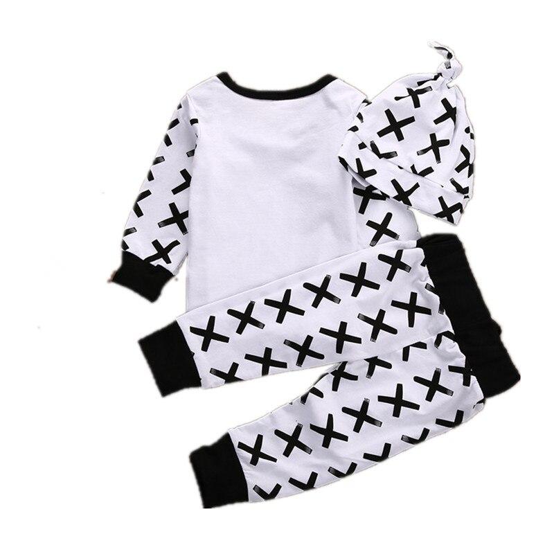 noworodek dziewczynka odzież koszula z długimi rękawami + spodnie - Odzież dla niemowląt - Zdjęcie 4