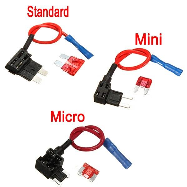 Add A Circuit Standard Mini Micro Blade Fuse Boxes Holder Piggy Back Fuses Tap_640x640 car fuse tap box data wiring diagram