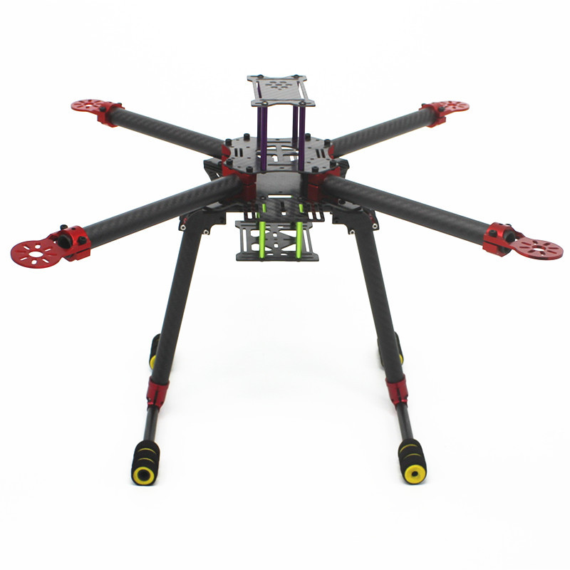 WST DIY folding tripod tripod UAV aerial carbon fiber frame supporting RC unmanned aerial vehicles 400 450 500 550 mm wheelbase chen yangquan remote sensing and actuation using unmanned vehicles