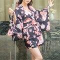 Os Recém-chegados Imprimir Robes Roupão Moda Sleepwear Robe Peignoir Kimono Robe De Algodão Do Vintage Da Dama de honra Vestes Vestes De Casamento # H152