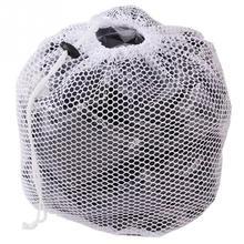 Worki siatkowe do prania sznurek siatkowy do prania siatka do prania mocna pralka zagęścić torba z siateczką do prania biustonosz tanie tanio Składany Domu NYLON Czyszczenie HLT0053