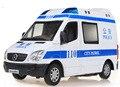 Новый город патрульной полиции/скорой помощи модели автомобиля 1:32 Сплава литья под давлением модели автомобиля со звуком мигающий световой сигнализации коллекции игрушек vehicels