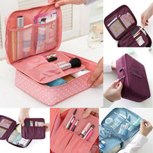 2018 New Fashion Hot Popular Multifunction Makeup Case Women Travel Cosmetic Bag Pouch Toiletry Organizer Bag multifunction creative travel toiletry bag organizer women cosmetic case makeup beauty hanging bag pouch case