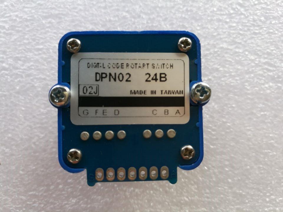 TOSOKU magnification machine tool Band switch  DPN-02J-24B DPN02 02J 24B CNC panel knob switch