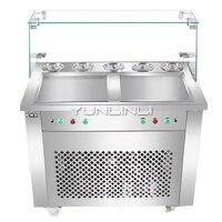 Commercial Ice Cream Mixing Machine Double Control Yogurt Stirring Machine Ice Cream Roll Making Machine HX CB25S