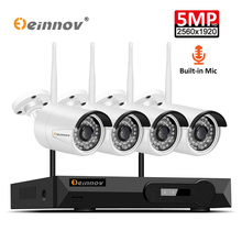Einnov H.264+ NVR Kit Video Surveillance Wifi 1080P IP Camera CCTV Set Home Wireless Security Camera System Waterproof IP66 HD
