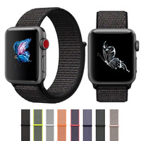 ASHEI Sport Loop Strap For Apple Watch Bands Series 3 2 1 Band 42mm Nylon Loop