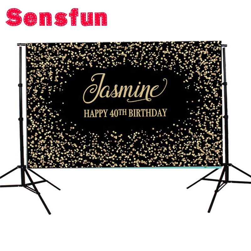 7x5ft Golden Glitters Photography Backgrounds Vinyl Studio Birthday Photo Backdrops Black Banners harman kardon onyx studio 2 black