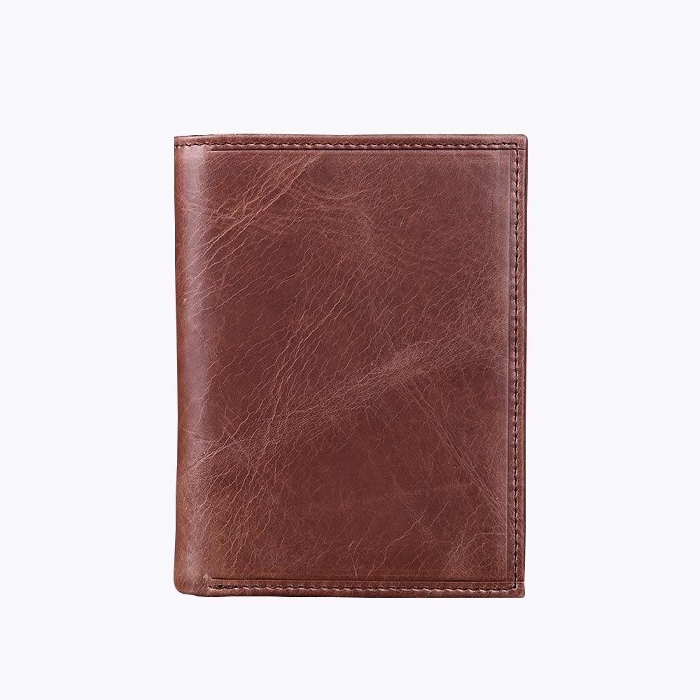 En cuir smart portefeuille hommes designer vintage homme bourse multi carte peu court portefeuille dembrayage hommes portefeuil
