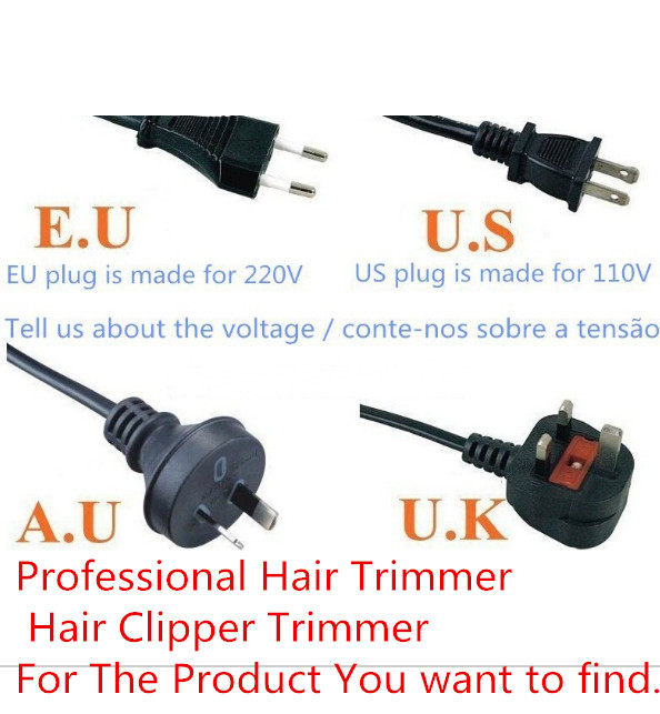 Drop shipping Hair split Electric Hair Clipper Rechargeable Hair Cutting the forks Machine Automatic Hair Trimmers