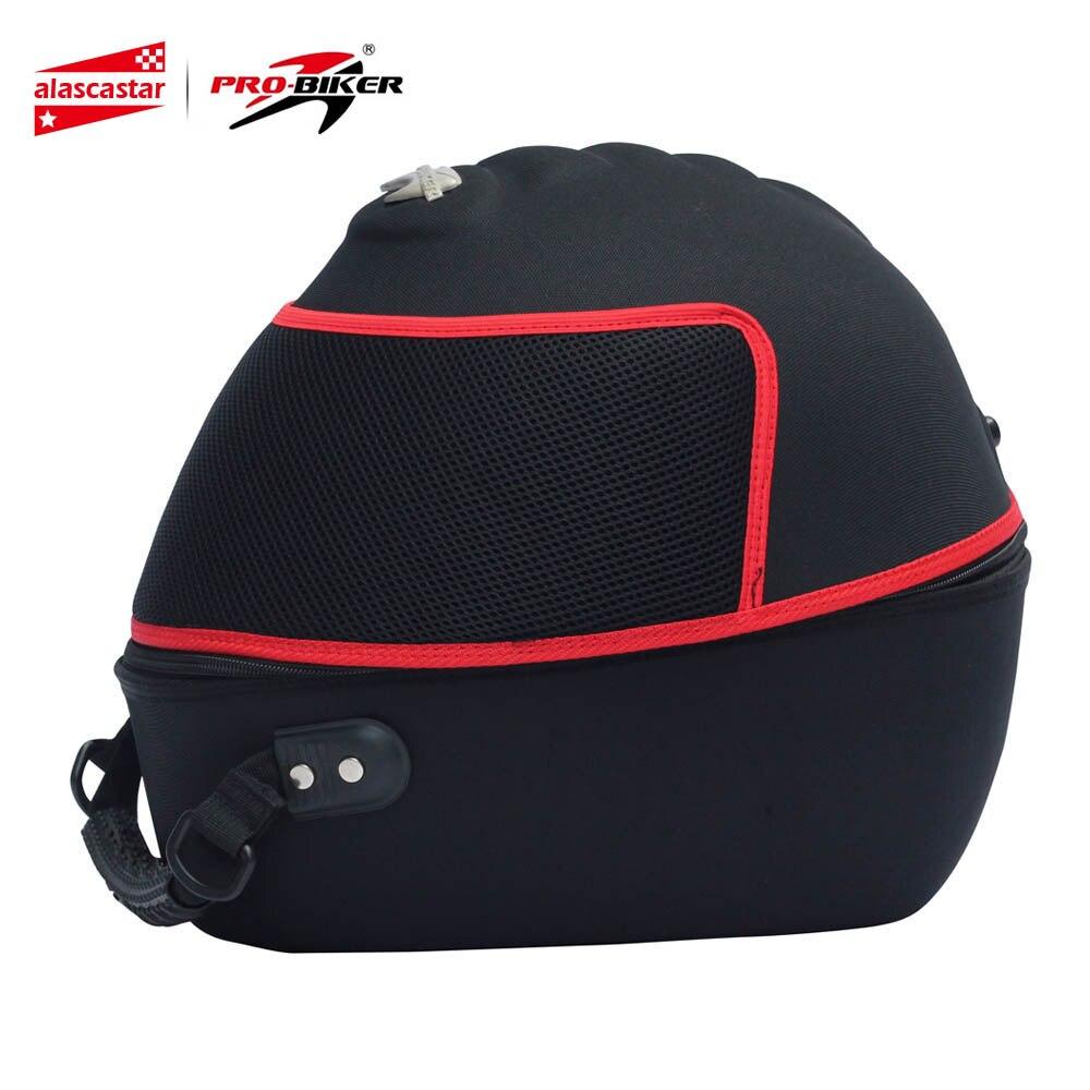 PRO-BIKER Helmet Bag Motorcycle Handbag Luggage Carrier Case Knight Motorbike Travel Multifunction Tool Tail Bag Shoulder Bag цена