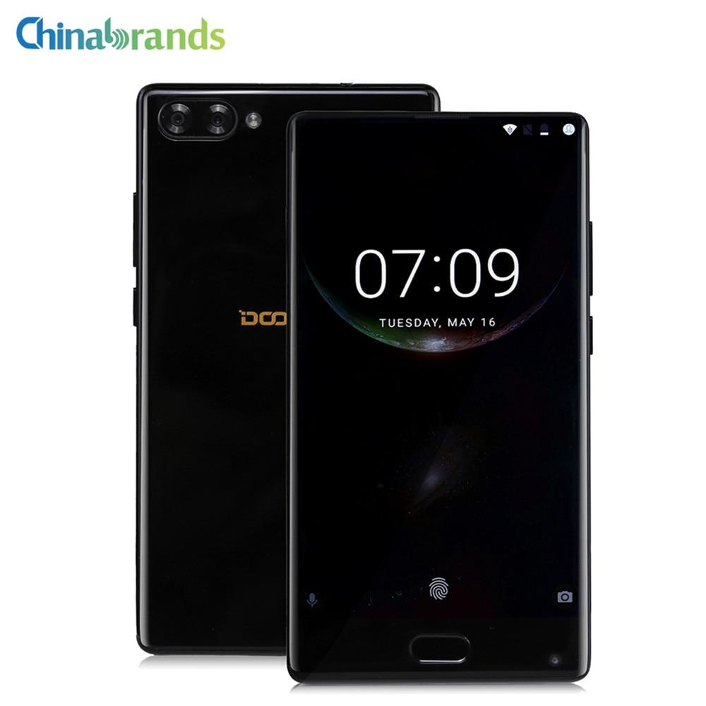 bilder für Ursprüngliche Doogee MIX 16.0MP + 8.0MP Zurück Cam 4G 5,5 ''Android 7.0 Mobiltelefon Helio P25 Octa-core 4 GB + 64 GB/6 GB + 64 GB Smartphone
