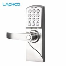 LACHCO электронный кодовый дверной замок цифровая умная клавиатура пароль+ резервный ключ смарт-вход A16070BS