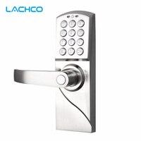 LACHCO электронный кодовый дверной замок цифровая умная клавиатура пароль + резервный ключ смарт-вход A16070BS