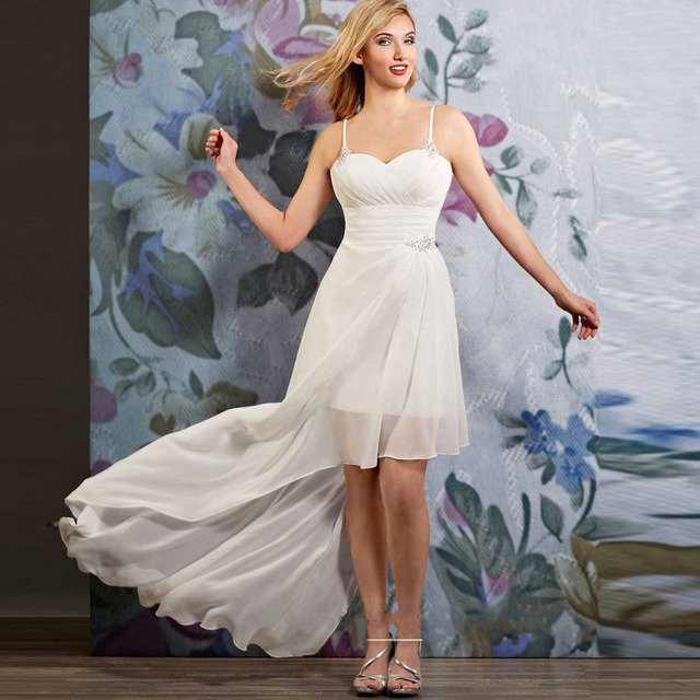 abito sposa beach chiffon wedding dress china online shop vestido