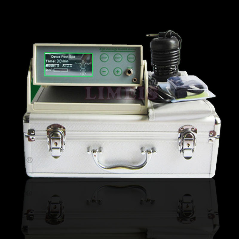 1pc detox foot spa machine ion ionic cleanser single detox massager for liver detoxfication bath spa with FIR belt machine machine