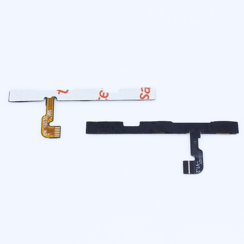 цена на for Xiaomi Redmi Note 2 Side Power ON OFF Volume Key Button Switch Flex Cable Ribbon Replacement Repair Spare Parts WP-238
