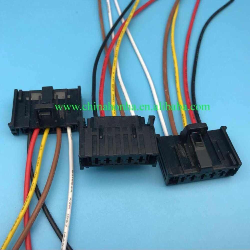 For OPEL Fiat Grande Punto Heater Resistor Wiring Harness Loom Repair Wiring Harness Repair Connectors on