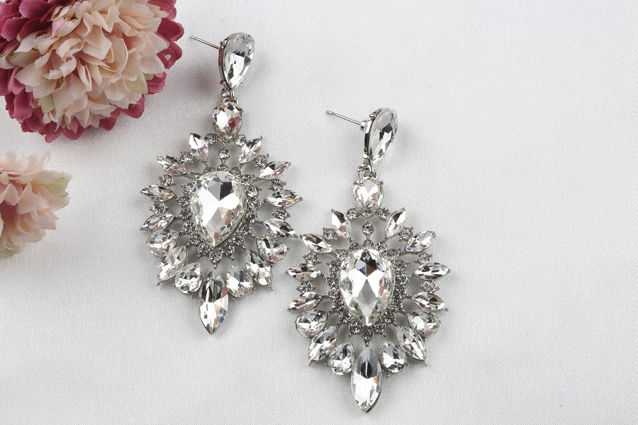 VEYO Crystal Earrings for Women Gift Luxury Drop Earrings New Arrival Wholesale 5
