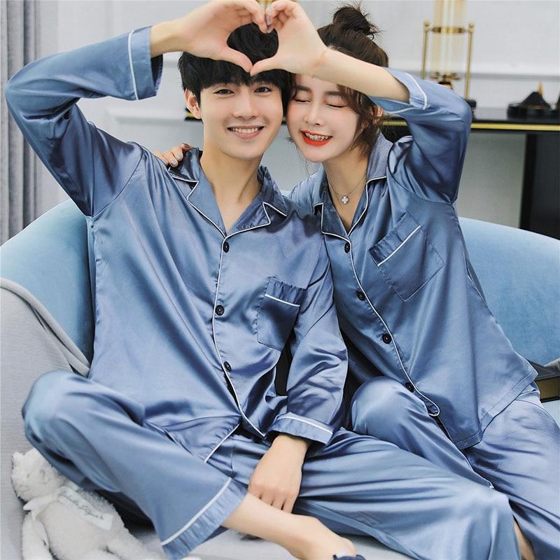Men's Pajama Sets Christmas Pajamas For Couples Men Pajamas Set Couples Matching Pajamas Sleepwear Long Sleeve Winter Pajama Men Onesie Plus Size 2019 Latest Style Online Sale 50%