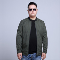 Free Shipping 2017 New Men S Big Code Casual Jacket Collar Solid Waterproof Jacket Mens Jacket