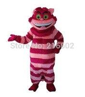 2017 Cheshire cat Cheshire cat Maskotki kostium Maskotki kostium Dla Dorosłych rozmiar Darmowa wysyłka