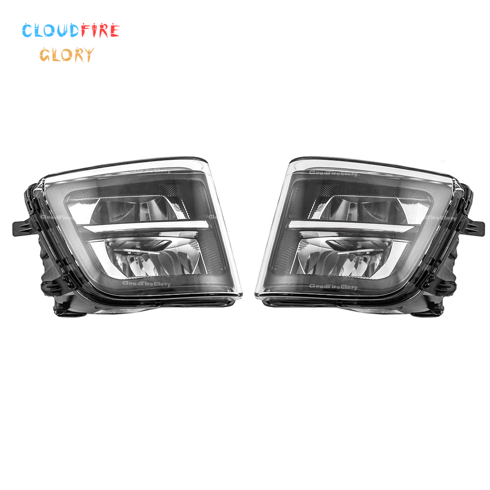 CloudFireGlory 63177311287 63177311288 Pair Left Right Front Bumper Fog Light For BMW F01 F02 F02 730i