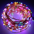 30M 300leds Copper Wire  LED String Light With Power adapter DC 12V 2A Fairy String Light Christmas Holiday Wedding Decoration