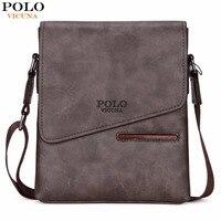 VICUNA POLO Vintage Frosted Leather Messenger Bag For Man Brand Business Man Bag Men S Shoulder